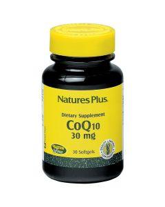 Nature's Plus CoQ10 30 mg 30 softgels