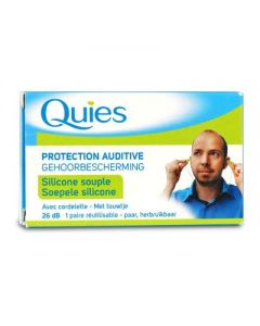 Quies Protection Auditive Silicon couple Ωτοασπίδες 1 pair