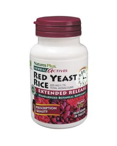 Nature's Plus Red Yeast Rice 600 mg Extended Release 30 vcaps