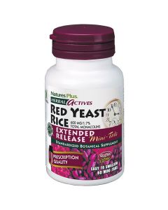 Nature's Plus Red Yeast Rice 600 mg 60 veg.caps