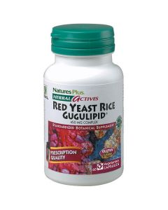 Nature's Plus Red Yeast Rice/Gugulipid 450 mg 60 veg.caps