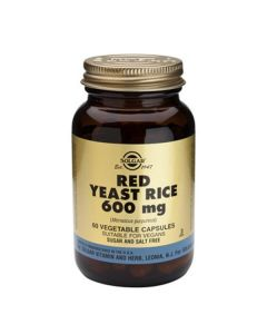 Solgar Red Yeast Rice Extract 600 mg 60caps