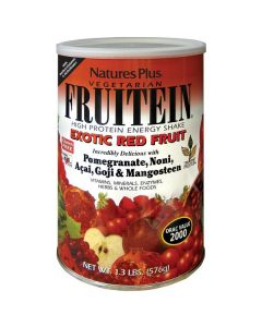 Nature's Plus Fruitein Exotic Red Fruit Shake 576 gr