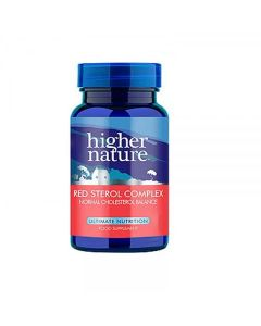 Higher Nature Red Sterol Complex Normal Cholesterol Balance 30 tabs