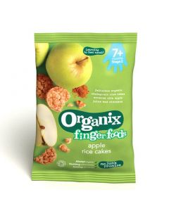 Organix finger foods Apple Rice cakes 50 gr