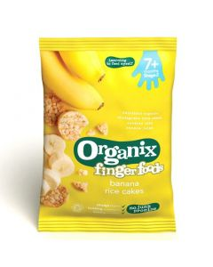 Organix finger foods Banana Rice cakes 50 gr