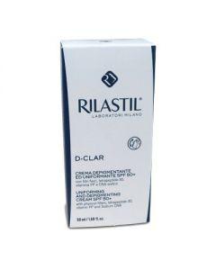 Rilastil D-Clar Uniforming Depigmenting cream SPF50+ 50 ml