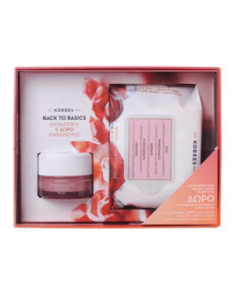 Korres Pomegranate Moisturising & Balancing Cream-gel oily combination skin 40 ml & Free Face wipes Pomegranate 25 pcs