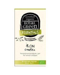 Royal Green Iron Complex Organic 60 caps