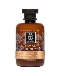 Apivita Royal Honey Creamy Shower gel with essential oils 300 ml