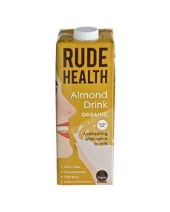 Rude Health Almond Drink Organic 1 lt