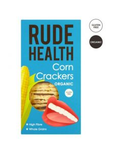 Rude Health Corn Crackers Organic 130 gr