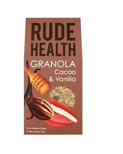 Rude Health Granola Cacao & Vanilla 450 gr