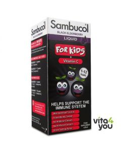 Higher Nature Sambucol For Kids with Vitamin C 120 ml