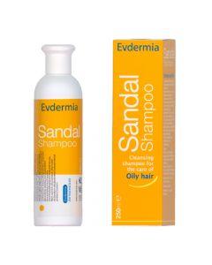 Evdermia Sandal Shampoo 250ml