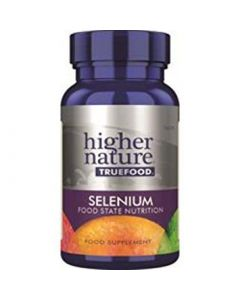 Higher Nature True Food Selenium Food State Nutrition 60 tabs