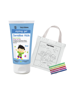Frezyderm Sensitive Kids Styling Gel Boys 100 ml & Free Fabric Painting Bag
