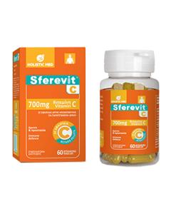 Holistic Med Sferevit C 700 mg 60 veggie caps