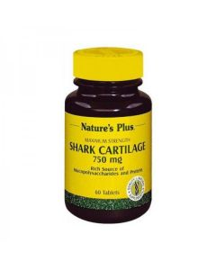 Nature's Plus Shark Cartilage 750 mg 60 tabs
