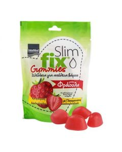 Intermed Slim Fix Gummies Φράουλα 42 gummies