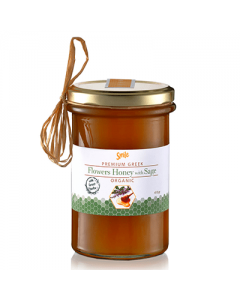 Smile Flowers Honey with Sage Organic 410 gr
