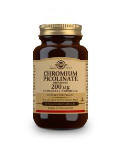 Solgar Chromium Picolinate 200 μg 90 veg. caps