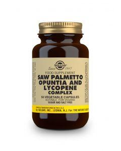 Solgar Saw Palmetto Opuntia & Lycopene Complex  50 veg.caps