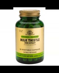 Solgar Milk Thistle Herb & Seed Extract  60 veg. caps