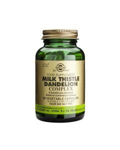 Solgar Sfp Milk Thistle/ Dandelion Complex 50 veg.caps