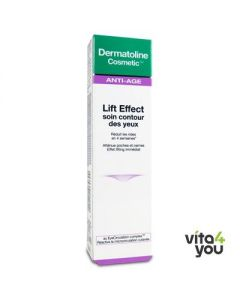 Dermatoline Cosmetic Αnti-Age Lift Effect Soin Contour Yeux 15 ml