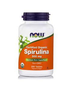 Now Spirulina 500 mg 200 tabs