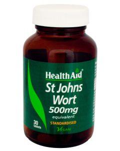 Health Aid St. John's Wort 500 mg standardised 30 tabs