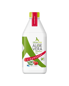 Litinas Aloe Vera Drinking Gel Strawberry 1000 ml
