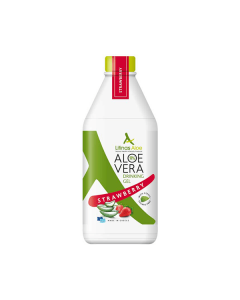 Litinas Aloe Vera Drinking Gel Strawberry 500 ml