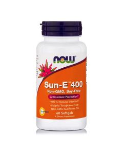 Now Sun-E 400 IU 60 softgels