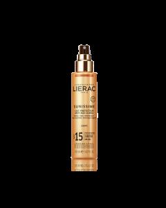 Lierac Sunissime Lait Protecteur Anti-Age Global Corps Spray SPF15 150 ml