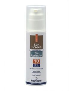 Frezyderm Sun Screen Tan Accelerator SPF10 150 ml