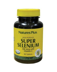 Nature's Plus Super Selenium 200 mcg with Vitamin E 90 tabs