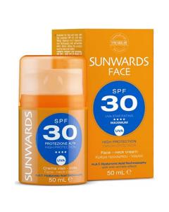 Sunwards Face Neck cream SPF30 50 ml