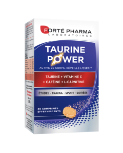 Forte Pharma Energie Taurine Power 30 eff tabs