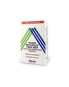 Alcon Tears Naturale Free Med 30 amp x 0.4 ml
