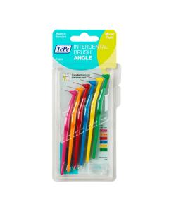 Tepe Interdental Brush Angle Mixed Pack 6 pcs