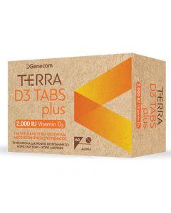 Genecom Terra D3 Tabs Plus 2000 IU 60 tabs