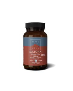 Terra Nova Matcha Green Tea 400 mg 50 veg caps
