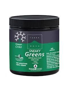 Terra Nova Child Sneaky Greens Super shake 180 gr