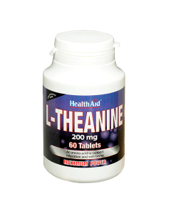 Health Aid L-Theanine 200 mg 60 tabs