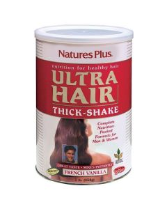 Nature's Plus Ultra Hair Thick Shake french vanilla flavor 454 gr