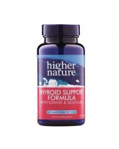 Higher Nature Thyroid Support Formula with Iodine & Selenium 60 caps