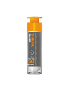 Frezyderm Active Sun Screen Tinted Face Fluid SPF50+ 50 ml