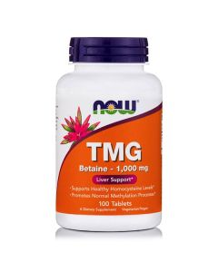 Now TMG (Trimethylglycine) 1000 mg 100 tabs